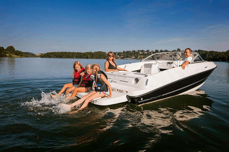 Motor Boat Types Explained Bowrider Boats