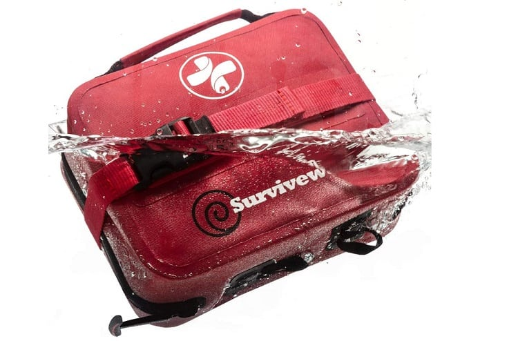 Best Boating Gear Guide Surviveware Large Waterproof First Aid Kit