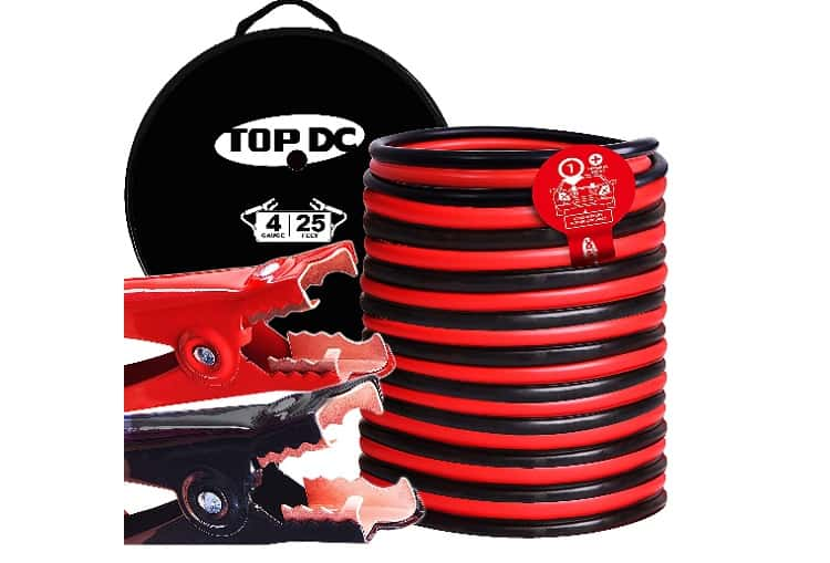 TOPDC Jumper Cables