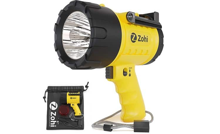 ZOHI 15L LED Super Bright Flashlight