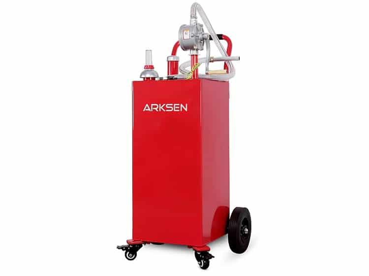 Arksen 35 Gallon Portable Gas Caddy
