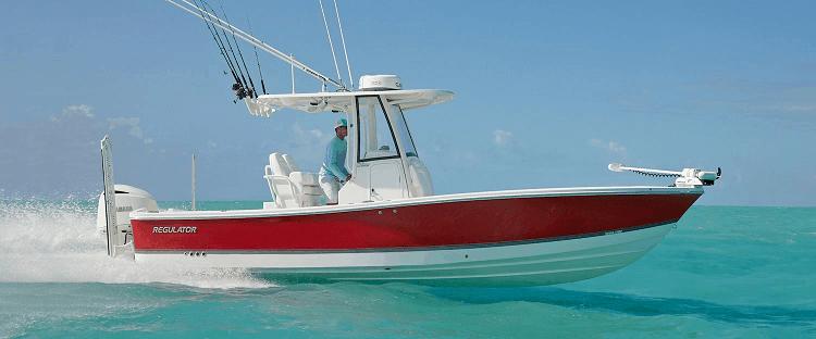 Regulator 26XO Bay Boat